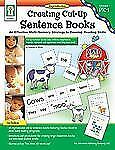 Creating Cut-Up Sentence Books, Grades PK - 1: An Effective Multi-Sensory