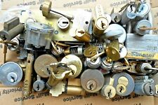 7.9 Lbs  Lock cylinders, locks, padlock, parts..    Locksmith, Student