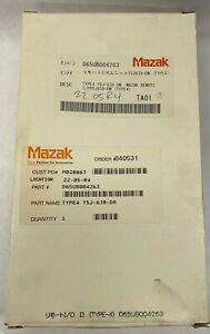 Mazak D65UB004263 Type 4 YSJ-639-DM Circuit Control Board Remote New