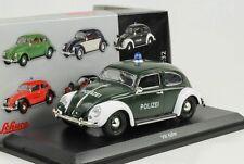 1953 Volkswagen VW Käfer Ovali Polizei 1:32 Schuco Spur 1 diecast