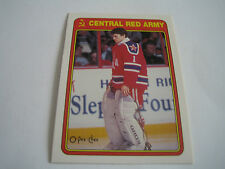 1990/91 O-PEE-CHEE HOCKEY ARTUR IRBE CARD #7R***CENTRAL RED ARMY***