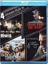 LEONARDO DI CAPRIO COLLECTION (4 BLU-RAY) 4 GRANDI FILM