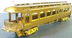 Oregon Electric  NILES PARLOR OBSERVATION     E. Suydam #1001  HO  Brass   Japan
