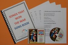 Songs That Won The War CD and Song Book (2 x CD)  Nostalgic Dementia Activities