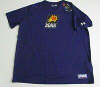 PHOENIX SUNS NBA T Shirt XXL 2XL Under Armour Combine NWT purple poly