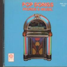 Various 50's(CD Album)Pop Songs Words And Music-