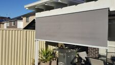 Outdoor Roller Blind/ Beige or Grey Awning with Aluminium HOOD