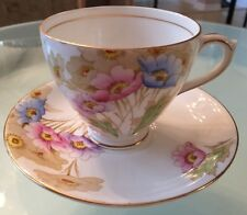 Royal Mayfair Bone China England Teacup & Saucer  c. 1938-1941