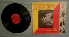 Music Soundtrack The Rose Tattoo LP Alex North Columbia Records 6 eye CL-727