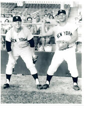 MICKEY MANTLE ROGER MARIS NEW YORK YANKEES  8x10 PHOTO