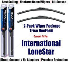 2-Pack Super-Premium NeoForm Wipers fit 2009-2018 International LoneStar 16220x2