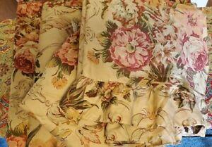 RALPH LAUREN GUINEVERE Floral French Country SATEEN FULL Sheet SET & DUVET SET!