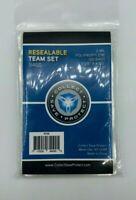 200 CSP TEAM SET BAGS Resealable Strip Trading Card Baseball NEW