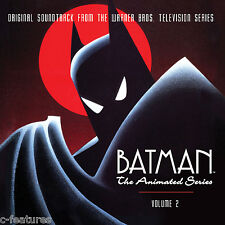 BATMAN ANIMATED SERIES Volume 2 LA-LA LAND 4-CD Ltd Edition SOUNDTRACK Score New
