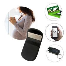 Mobile Cell Phone RF Signal Blocker Anti-Radiation Shield Case Pouch Black