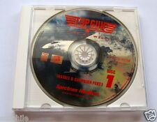 Top Gun Fire at Will, 1995 PC Game, 2 CD-ROM Disks in Jewel Case