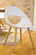 Esstisch Stuhl LUCKY 906.11 von TONON Design Stuhl Eiche weiß