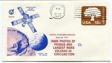 1977 Viking Extended Mission Photos of Phobus Volcano JPL NASA Pasadena Sonda
