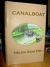 Canalboat, Helen Geib Fry, Story Boat Runner Family On Canals Akron Ohio 1800s