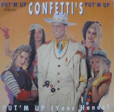 "++CONFETTI'S put' m up + instr live SP45T 7"" 1990 DEESSE VG++"