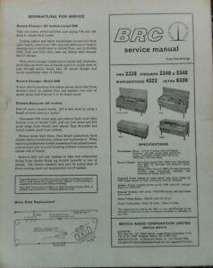 HMV 2338 Ferguson 3340 3348 Marconiphone 4332 Ultra 6330 Gramophone record playe