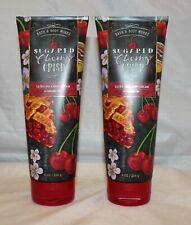 Bath & Body Works Sugared Cherry Crisp Ultra Shea Body Cream X 2