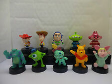 DISNEY-PIXAR cake topper MIX-Toy Story-WINNIE THE POOH 10 Figure in plastica