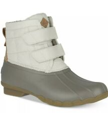 Sperry Women's Saltwater Jetty Snow Boot Off White US 6