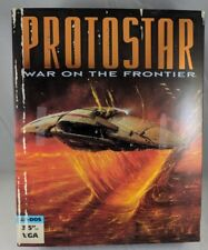 "Protostar War on the Frontier 3.5"" PC Big Box Sci Fi Space Sim Tsunami Media CIB"