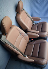 2019 2018 2017 Toyota Sienna XLE Touring 2nd Row Bucket Seats Brown Leather