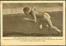 France Olympische Spiele Olympic Games 1924 Unused Postcard runner advertisement