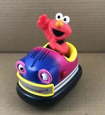 Sesame Street Elmo Bumper Car Mattel Battery Operated--Talks-Car Turns Circles