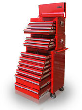 21 US Pro Tools Red Tool Chest Box Roll Industrial Cabinet FINANCE AVAILABLE!