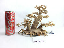 Bonsai Driftwood Tree for Aquarium Moss Fish Shrimp Planted Tank -Size M- AC253