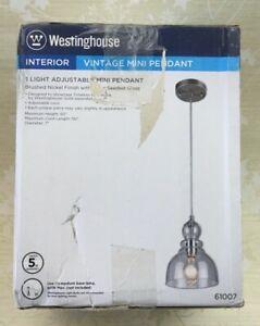 Westinghouse 61007 DesignerYou Mini Pendant Light, 60 Watts