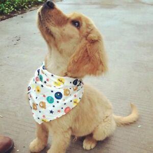 Wholeslae Lot 100 Pcs Cotton Dog Bandana Tie on Puppy Pet Necktie Scarf Grooming