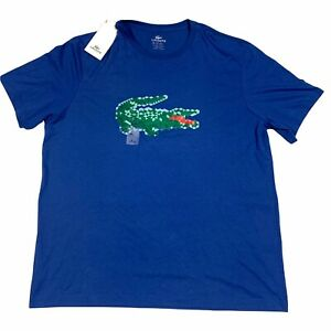 Lacoste Mens T Shirt Size 3XL Athletic Sports