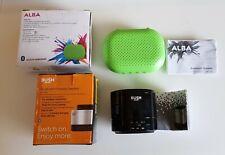 2 X Bush & Alba Mini Bluetooth Inalámbrico Altavoces portátiles USB WO281 Recargable