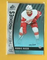 D18342  2017-18 SP Game Used Rainbow #178 Robbie Russo ROOKIE #181/224