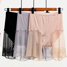 Плюс размер шорты кружева против износа бедра безопасность шорты леди нижнее белье