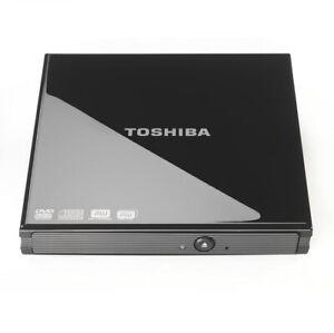 Toshiba external drive PA3761E - 10V2, optical disc drive Black
