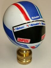 Nascar Valvoline Ford Cummins Simpson Racing Helmet Lamp Finial
