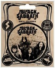 Black Sabbath Vintage Vinyl Stickers Official Carded