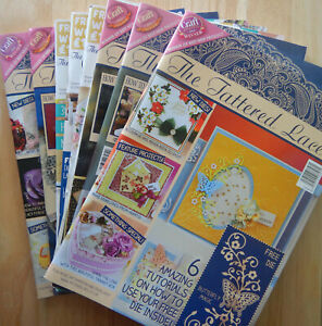 🦋 Tattered Lace Magazines papers included