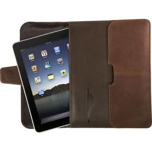 Targus Hughes Leather Portfolio Slipcase for iPad TES01001US , Table Slipcase