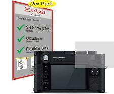 2x EnWi 9H Displayschutzfolie KLAR für Leica M10-P