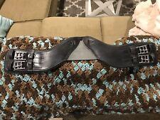 """Total Saddle Fit StretchTec Shoulder Relief Dressage Girth - Black - 24"""""""