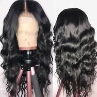 Pre Plucked Body Wave Full Front Lace Wig Indian Raw Human Hair With Baby Hair P