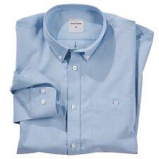 Samuel Windsor Mens Regular Fit Cotton Oxford Shirt Long Sleeve Sizes S-XXXL NEW