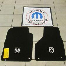 DODGE RAM 1500 2500 3500 4500 5500 Reg & Quad cab front floor mats NEW OEM MOPAR